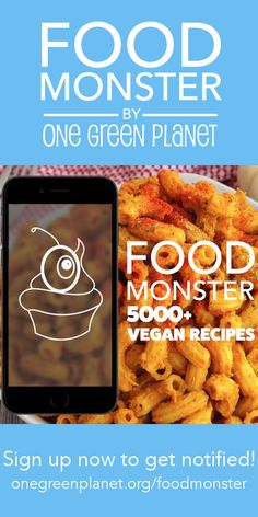It's never been easier to #EatForThePlanet with our new #vegan food app. Sign up now for updates and exclusive offers! onegreenplanet.org/foodmonster   #eatfortheplanet #vegan #veganshare #vegansofig #plantbased #plantpower #healthy #eatclean #yum #foodporn #food #veganfoodporn #veganfood #vegancooking #veggieinspired #plantbasedcooking #plantbased #veg #eatgreen #eatclean #veganfoodshare #meatfree #meatless #dairyfree #plantpower #whatveganseat