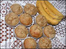 Muffins au gruau et aux bananes faibles en gras Recettes