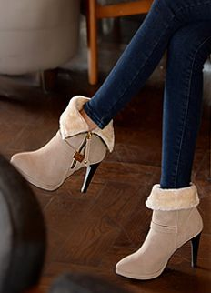 Fashionable Shoes from Styleonme. Korean Fashion, Women Fashion, Feminine Look, Classy Look, Office Look, Lovely, Romantic, High Quality, Gorgeous Look, F/W 2014,Style On Me, Louis Angel, Winter Styling www.styleonme.com www.facebook.com/StyleonmeEn