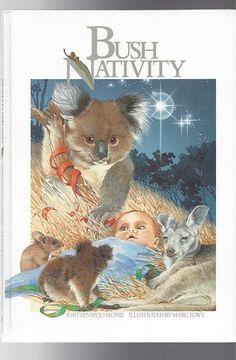 Bush Nativity JO Monie Illusustrated by Marg Towt Australian Christmas HC Koalas Kangaroos Aussie Christmas, Australian Christmas, Summer Christmas, Christmas Images, Santa Christmas, Christmas Stockings, Christmas Graphics, Christmas Stuff, Christmas Greetings