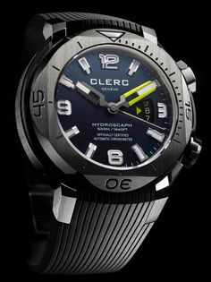 Clerc Hydroscaph H1 #watch #clerc
