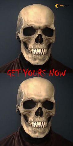 Fete Halloween, Halloween Masks, Halloween Themes, Halloween Decorations, Halloween Displays, Halloween Stuff, Halloween Makeup, Christmas Decorations, Skull Mask