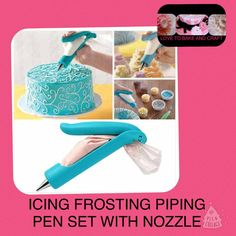 Piping tips piping pen Icing tips piping by Lovetobakeandcraft
