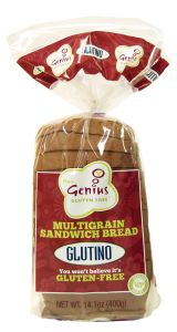 Glutino Gluten Free Multigrain Sandwich Bread - Seriously THE best gluten free bread ever. It's so good - tastes like homemade bread - great as toast too.