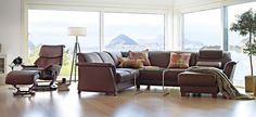 Shop and find the best price on Ekornes Stressless E40 sectional sofas. Also Ekornes Stressless E40 in paloma leather.