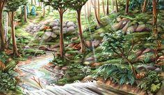 Copic Deutschland Blog: Wälder zeichnen