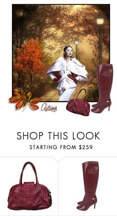 """""""Autumn boots"""" by coastalcatches ❤ liked on Polyvore featuring Botkier and Salvatore Ferragamo"""