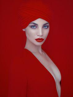 #redphotography#artisticredphotography#redwoman#redlady#redwomanportrait#phdavidbeneliel#davidbenoliel