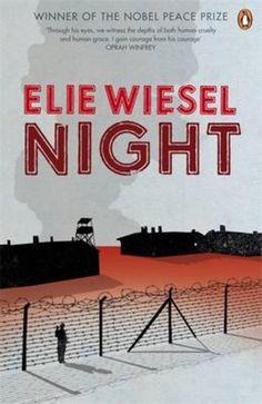 Night by Elie Wiesel - Penguin Books . Night By Elie Wiesel, Penguin Modern Classics, John Boyne, The Kite Runner, Michael Crichton, Modern Books, Innocent Man, Nobel Peace Prize, Penguin Random House