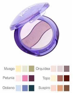 #Sombradeojos color orquídea
