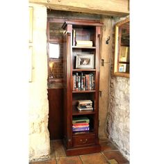 This La Roque narrow alcove bookcase would look great in the narrowest spaces. Plus get off in our home office storage promotion until the June Home Office Storage, Home Office Decor, Home Decor, Storage Drawers, Tall Cabinet Storage, Tall Narrow Bookcase, Mahogany Furniture, Wooden Furniture, Online Furniture Stores