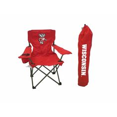 Wisconsin Badgers NCAA Ultimate Junior Tailgate Chair