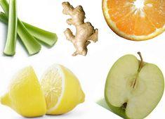 Juice Recipes: Healthy Orange + Apple + Celery + Lemon + Ginger Juice Recipe | The Beauty Bean - Beauty | Fitness | Fashion | Nutrition | Healthy Recipes | Real Beauty | Makeup Free Mondays