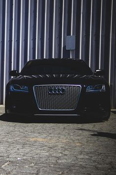 Mean blacked out Audi RS5. #carporn