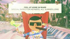 Soho Beach House Miami  - Special Summer Rates for Members. Video by sohohouse. #SOHOHOUSE