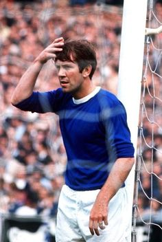Howard Kendall of Everton in
