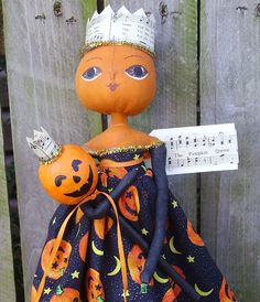 I love unusual handmade dolls.