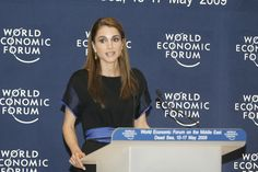 Queen Rania - World Economic Forum on the Middle East 2009