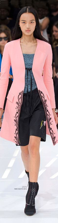 #Paris FW  Christian Dior Spring Summer 2015 RTW