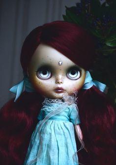 OOAK custom Blythe art doll by DollsXII on Etsy