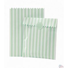 Talking Tables Mix and Match - Sacchetti in carta per caramelle, 10 pezzi, colore: menta
