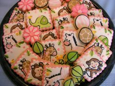 Sweets By Sherie: Jungle Jill Baby Shower