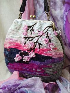Irish crochet &: Bags from Olga. Ideas.