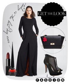 """Black & Red Seduction @CataleyaLondon #AzizaZina @janiko_official #Janiko #ShopAtMayfair"" by atmayfair ❤ liked on Polyvore"