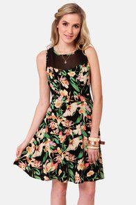 Cute Flower Dresses for Juniors