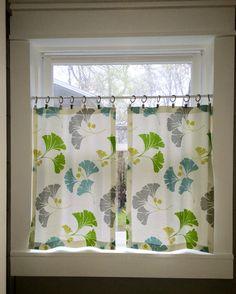 Super Simple Diy Cafe Curtains Share Your Craft Cafe