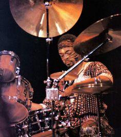 Don Moye late 70's Art Ensemble of Chicago