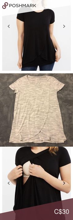 Motherhood Maternity Nursing/ Maternity Tee Washed but never warn. Size small **cat friendly, smoke free home** Offers welcome Motherhood Maternity Tops Tees - Short Sleeve Maternity Tees, Maternity Nursing, Small Cat, Lace Shorts, Smoke Free, Sleeves, Closet, Things To Sell, Tops
