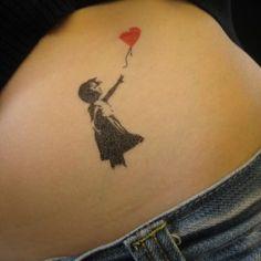 b719578ffa17 I almost want this.. Tatouage Banksy