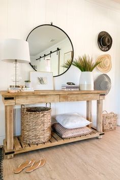 Stunning, clean lines, but elegant entry furniture and accessories ideas design 1111 Light Lane - Classic + Modern Inspiration for Everyday Living Entry Furniture, Furniture Legs, Barbie Furniture, Furniture Design, Garden Furniture, Western Furniture, Console Furniture, White Furniture, Luxury Furniture