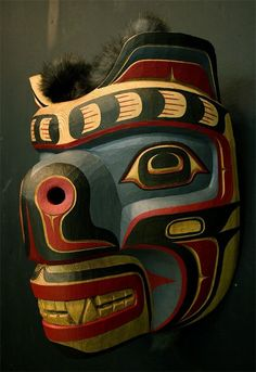 Haida bear mask