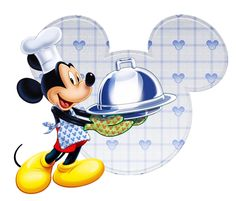 Perfect for breakfast at chef Mickey's