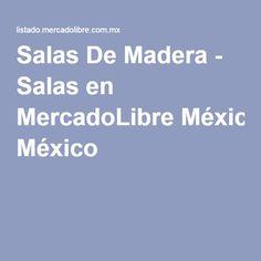 Salas De Madera - Salas en MercadoLibre México