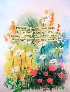 ☼♡Eric Hanson☼♡ #quote #bloom