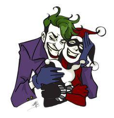 El Guasón y Harley Quinn