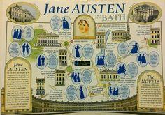 Jane Austen postcard? Yes please.