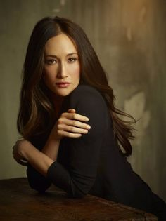 Maggie Q. Not only is she stunning, but she can kick some bootay! She trained under Jackie Chan.