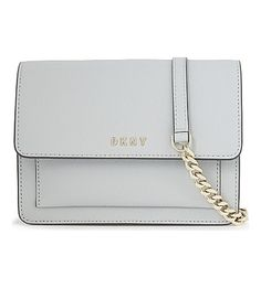 DKNY Bryant Park Leather Mini Cross-Body. #dkny #bags #shoulder bags #leather #