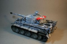 Winter Tiger tank
