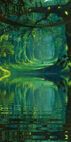 New Fantasy Landscape Nature Magical Forest Ideas Fantasy Art Landscapes, Fantasy Landscape, Landscape Art, Landscape Paintings, Landscape Design, Art Paintings, Contemporary Landscape, Landscape Concept, Landscape Wallpaper