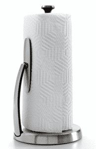 OXO Good Grips SimplyTear Standing Paper Towel Holder, Brushed Stainless Steel Paper towels play a crucial in the home. They help in quickly cleaning up a mess, soaking up liquids, and wiping items. Without them, the spills would not Paper Towel Holder Kitchen, Paper Towel Holders, Best Paper Towels, Towel Holder Stand, Pietro Boselli, Brushed Stainless Steel, Good Grips, Online Gifts, Clean Up