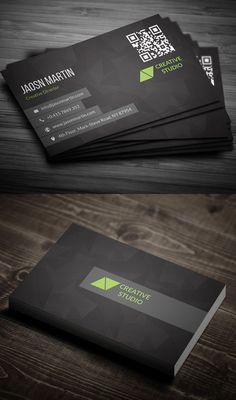 Creative Business Card #businesscards #businesscarddesign #psdtemplates #corporatedesign