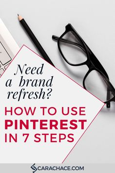 Learn how to utilize Pinterest as a branding tool for a brand refresh. 7 steps to boosting your brand as an online entrepreneur and business owner. PLUS, bonus stock photography to help you get started. #onlinemarketingtips #onlinemarketingtools #carachace