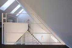Galeriegeschoss unterm Dach