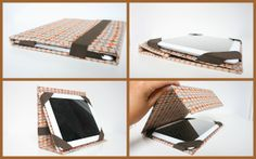 de iHoes-handleiding ! by eva maria i-pad cover sewing tutorial