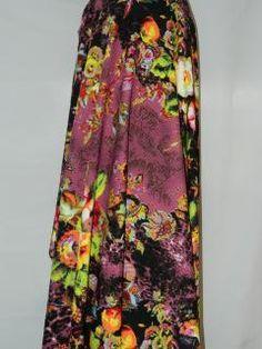 Material Matlasat Tie Dye Skirt, Textiles, Satin, Skirts, Fashion, Moda, Fashion Styles, Elastic Satin, Skirt